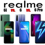 Realme 6i vs Realme 6 vs Realme 6 Pro - Full Phone Specifications & Prices Comparison